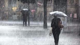 Hava bir anda bozacak ! Meteoroloji'den fırtına ve sağanak yağış uyarısı