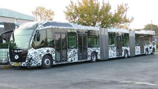 İstanbul'un yeni metrobüsleri teste çıktı... İşte yeni araçlar