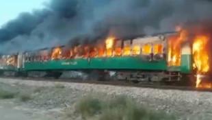 Trende korkunç yangın: 62 kişi hayatını kaybetti