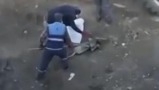 Sosyal medyada infial yaratan video: Belediye işçisinin işkencesi kamerada!