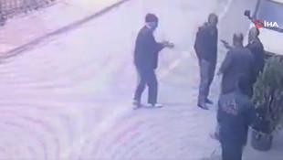 Malatya'da cinayet anı saniye saniye kamerada !