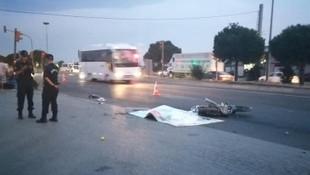 İzmir'de motosiklet kazası: Anne ve oğlundan acı haber