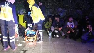 İstanbul'da facia gibi kaza: Çok sayıda yaralı var!