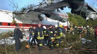 İstanbul'a gelirken düşen uçakla ilgili ilk şüphe