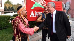 Atatürk'ün Ankara Hemşeriliğini kabülünün 97. yıldönümü etkinlikle kutlandı