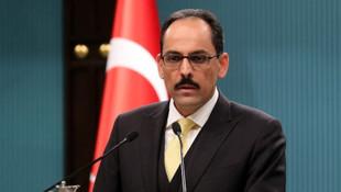 Beyaz Saray'ın Suriye açıklamasına Türkiye'den yanıt
