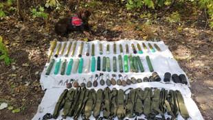 PKK'ya ağır darbe: 13 sığınak ve depo imha edildi