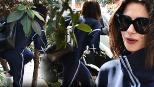 Spor çıkışı yakalanan Nesrin Cavadzade'nin zor anları