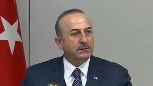 Çavuşoğlu'ndan Suriye operasyonu için flaş açıklama