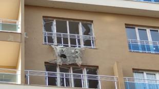 Nusaybin'e roket isabet etti