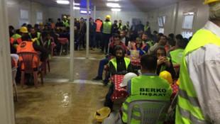 İstanbul Havalimanı'nda 300 işçi iş bıraktı
