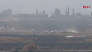 Rusya ile ortak devriye başladı ! Basın ordusu sınıra akın etti