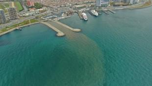 Marmara Denizi çamura bulandı