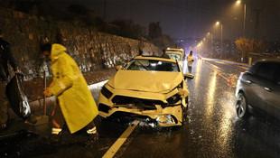 MHP'li İl Başkanı Kayseri'de kaza yaptı !