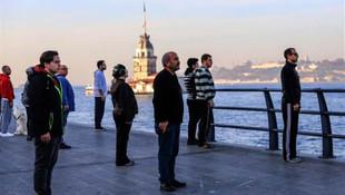 Saat 09:05'te Türkiye'de hayat durdu