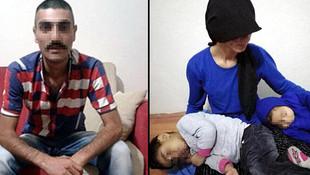 Eşi ve kızına işkence etmişti... Tutuklandı