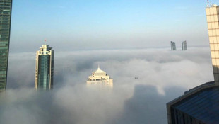 İstanbul güne sisle uyandı ! Vapur seferlerinde aksama