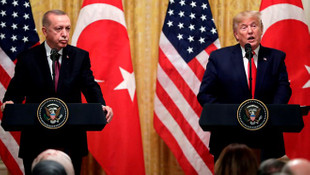 Erdoğan: Mektupları Trump'a takdim ettim