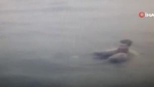 İstanbul Boğazı'nda bir yolcu denize düştü