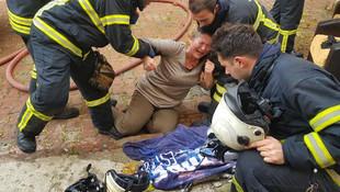 Yangında kedileri ölen kadın krize girdi
