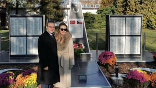 Büyükelçi Bağış'tan anlamlı ilk ziyaret