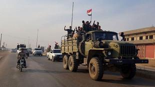 Suriye ordusu sınıra konuşlandı