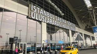 Sabiha Gökçen Havalimanı'nda bir ilk