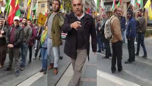 PKK yandaşlarının yüzüne ''Ne mutlu Türk'üm diyene'' diye haykırdı!