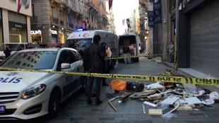 İstiklal caddesinde korkunç ölüm