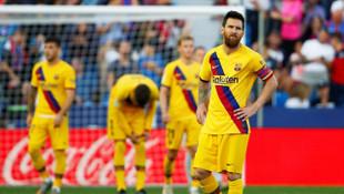 Levante 3 - 1 Barcelona