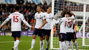 Aston Villa 1 - 2 Liverpool