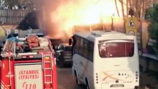 İstanbul'da korku dolu anlar ! Bomba gibi patladı