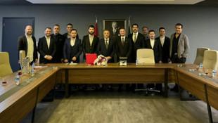 Ahmet Nur Çebi'ye hayırlı olsun ziyareti