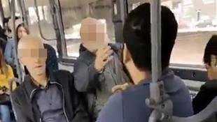 Otobüsteki ''Karşımda oturma, gözüm sana kayıyor'' rezaletinde flaş gelişme