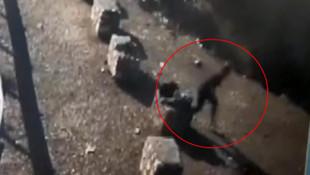 Korkunç görüntü ! Genç kız 50 metrelik uçurumdan atladı