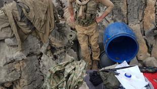 PKK'nın Türkiye'deki 11 sığınağı imha edildi