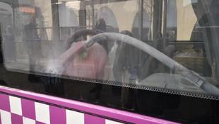 İstanbul'da özel halk otobüsünde akılalmaz olay !