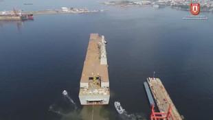 Türkiye'nin en büyük savaş gemisi için geri sayım başladı