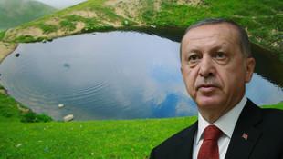Erdoğan, Dipsiz Göl için ilk kez konuştu