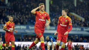 Norwich Cityli Dennis Srbeny'den asker selamlı gol sevinci