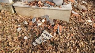 Annesinin mezarını parçaladı ! Sebebi şoke etti