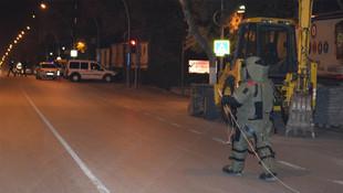 Komutanlık binası önünde bomba paniği