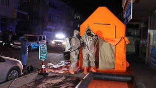 Aksaray'da kimyasal madde ve şarbon alarmı