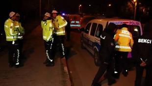 Şarampole yuvarlandı, polise ''şehir dışındayım'' dedi !