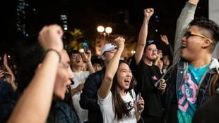 Hong Kong'da yerel seçim sonuçları açıklandı