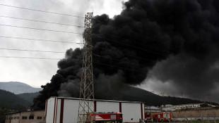 İzmir'de büyük yangın! Dumanlar gökyüzünü kapladı