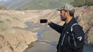 Barajın suyu çekilince ortaya çıktı