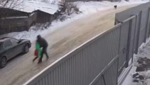 9 yaşındaki küçük kızın kaçırılma anı kamerada