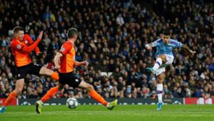 Manchester City 1-1 Shakhtar Donetsk ( UEFA Şampiyonlar Ligi)