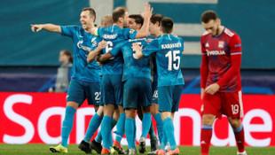 Zenit - Lyon maç sonucu: 2-0 (Şampiyonlar Ligi)